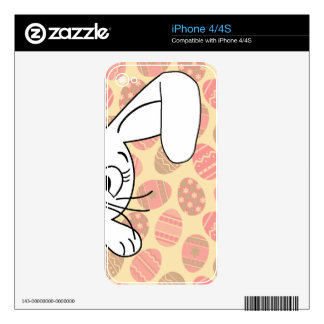 Easter bunny decal for the iPhone 4