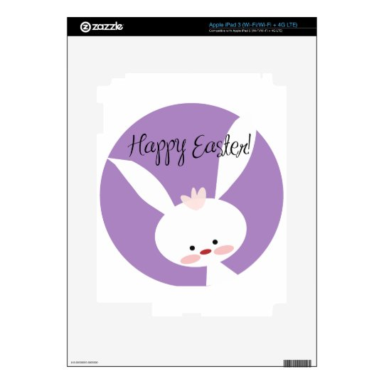 Easter Bunny Decals For iPad 3