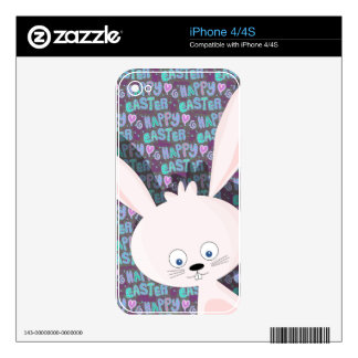 Easter bunny decals for iPhone 4S