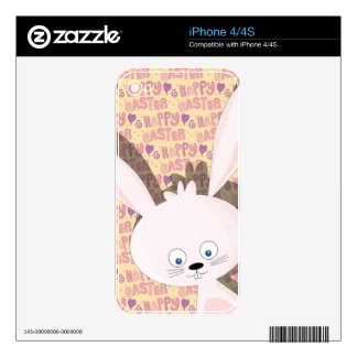 Easter bunny decals for the iPhone 4S