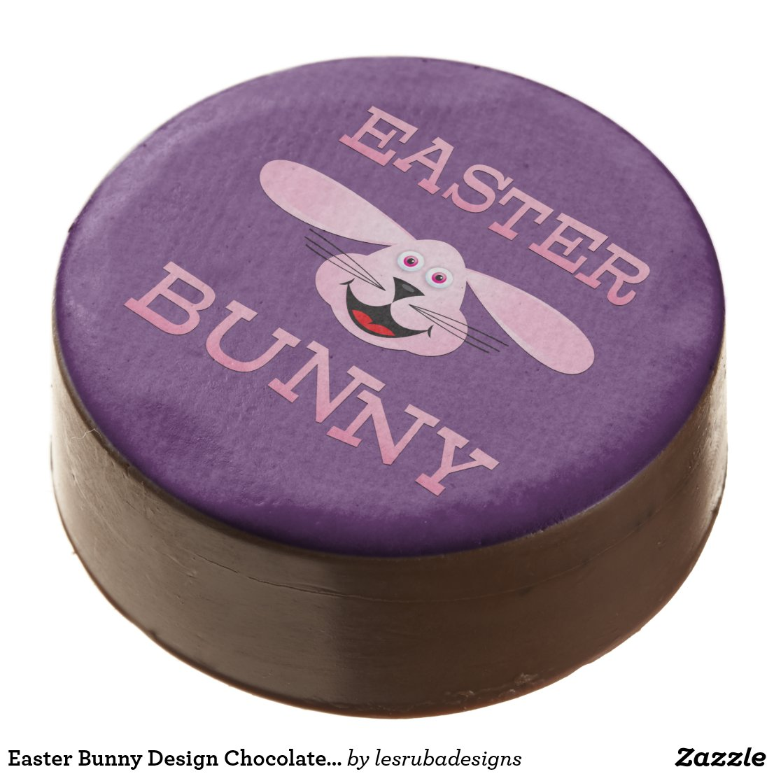 Easter Bunny Design Chocolate Covered Oreos