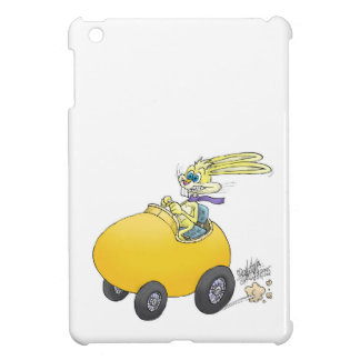 Easter bunny driving an Easter egg!.jpg Cover For The iPad Mini