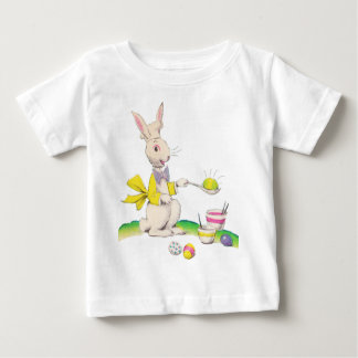 Easter Bunny Dying Eggs Baby Shirt