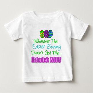 Easter Bunny Dziadek Will Baby T-Shirt