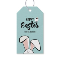 Easter Bunny Ears Gift Tag