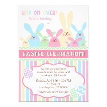 Easter Bunny Easter Celebration Party Invitation