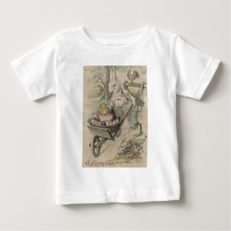Easter Bunny Egg Chick Rooster Farmer Baby T-Shirt