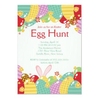 Easter Bunny Egg Hunt Easter Party Invitation