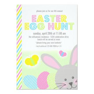 Easter Bunny Egg Hunt Invitation