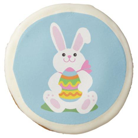 Easter Bunny   Egg Hunt Sugar Cookie