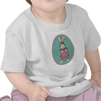 Easter Bunny Egg Oval Shirt