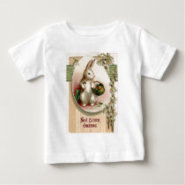 Easter Bunny Egg Umbrella Lily Basket Carrot Baby T-Shirt
