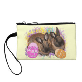 Easter Bunny Fantasy - Happy Easter! Coin Wallet
