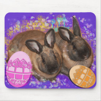 Easter Bunny Fantasy - Happy Easter! Mouse Pad