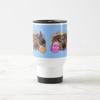 Easter Bunny Fantasy - Happy Easter! Travel Mug