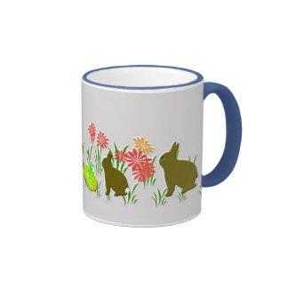 Easter Bunny Flower Mug