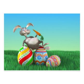 Easter Bunny Flyer Design