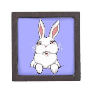 Easter Bunny Gift Box Easter Bunny Art Jewelry Box Premium Gift Box