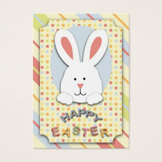 Easter bunny business cards templates zazzle easter bunny gift tag negle Gallery