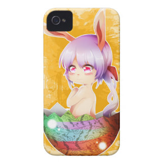 Easter Bunny Girl iPhone 4 Case-Mate Case