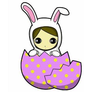 Easter Bunny Girl T-shirt shirt