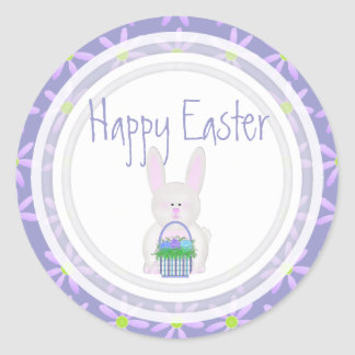 Easter Bunny: Happy Easter Stickers