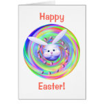 Easter Bunny Head Spin Cards