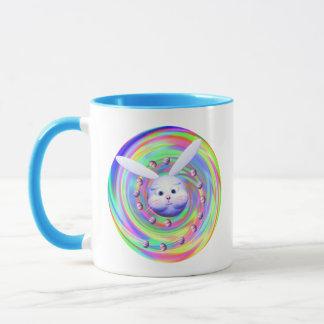 Easter Bunny Head Spin Mug