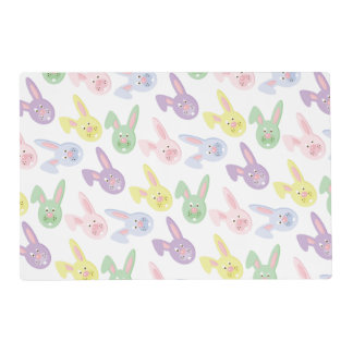 Easter Bunny Holiday laminated place mat
