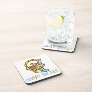 Easter Bunny Home Goods Drink Coaster