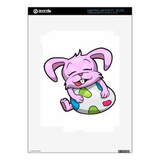 Easter Bunny Hugging an Egg Skin For iPad 3