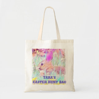 Easter Bunny Hunt Tote