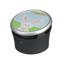 Easter bunny illustration speaker