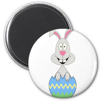 Easter bunny in an Easter egg: Easter tees & gifts 2 Inch Round Magnet