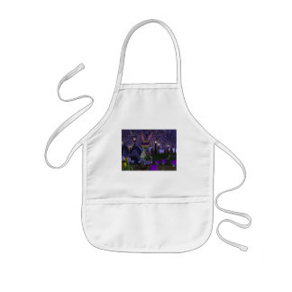 Easter Bunny in Park Kid's Apron