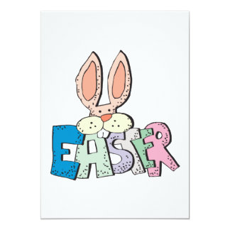 Easter Bunny 5x7 Paper Invitation Card