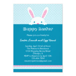 "Easter Bunny Invitation 5"" X 7"" Invitation Card"