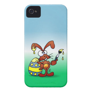 Easter Bunny iPhone 4 Cover