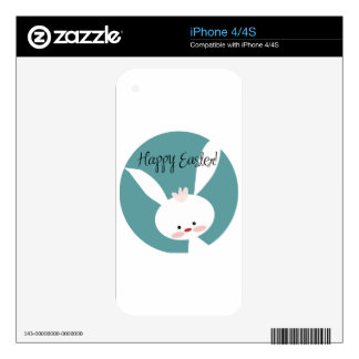 Easter Bunny iPhone 4 Skin