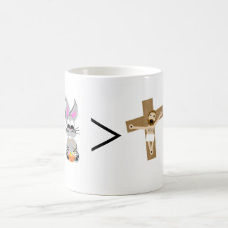 Easter Bunny is greater than Jesus Coffee Mug