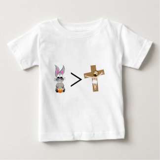 Easter Bunny is greater than Jesus Tee Shirt