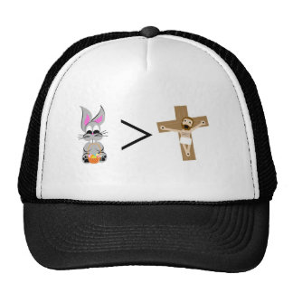Easter Bunny is greater than Jesus Trucker Hat