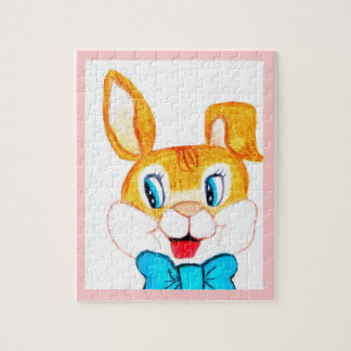 EASTER BUNNY, JACK RABBIT puzzle