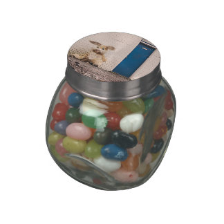 Easter Bunny Jelly Belly Candy Jar