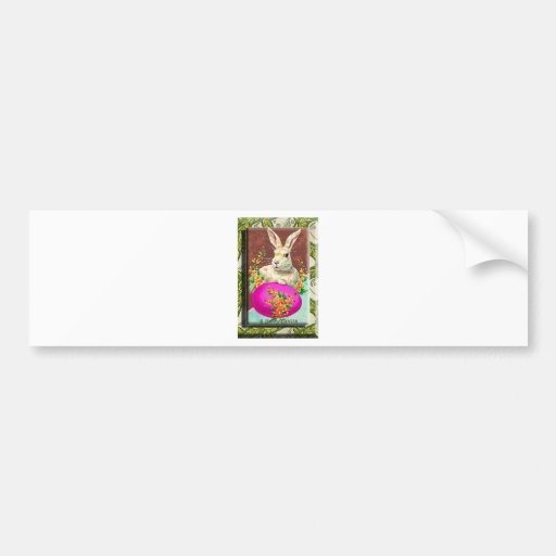 EASTER BUNNY.jpg Bumper Stickers