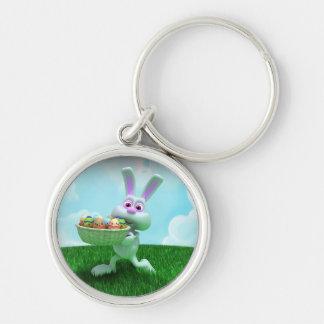 Easter Bunny Keychain
