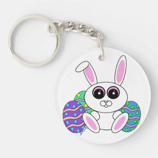 Easter Bunny Acrylic Key Chain