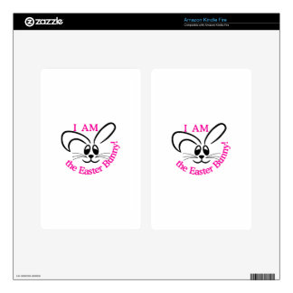 Easter Bunny Kindle Fire Skin