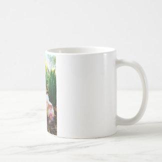 Easter Bunny kissing Cow Egg Coffee Mug