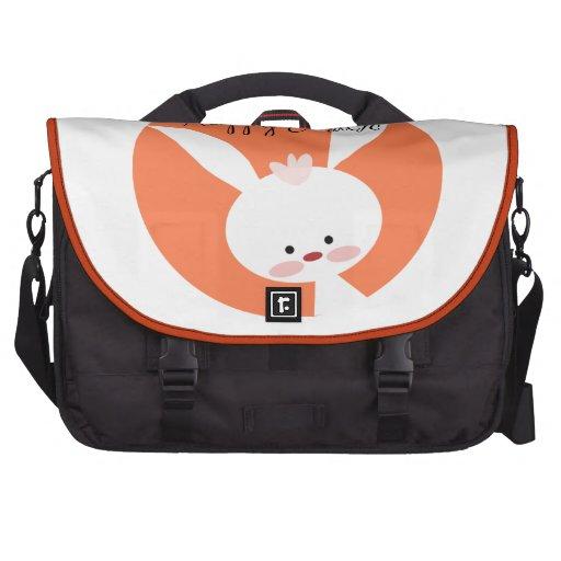 Easter Bunny Laptop Messenger Bag